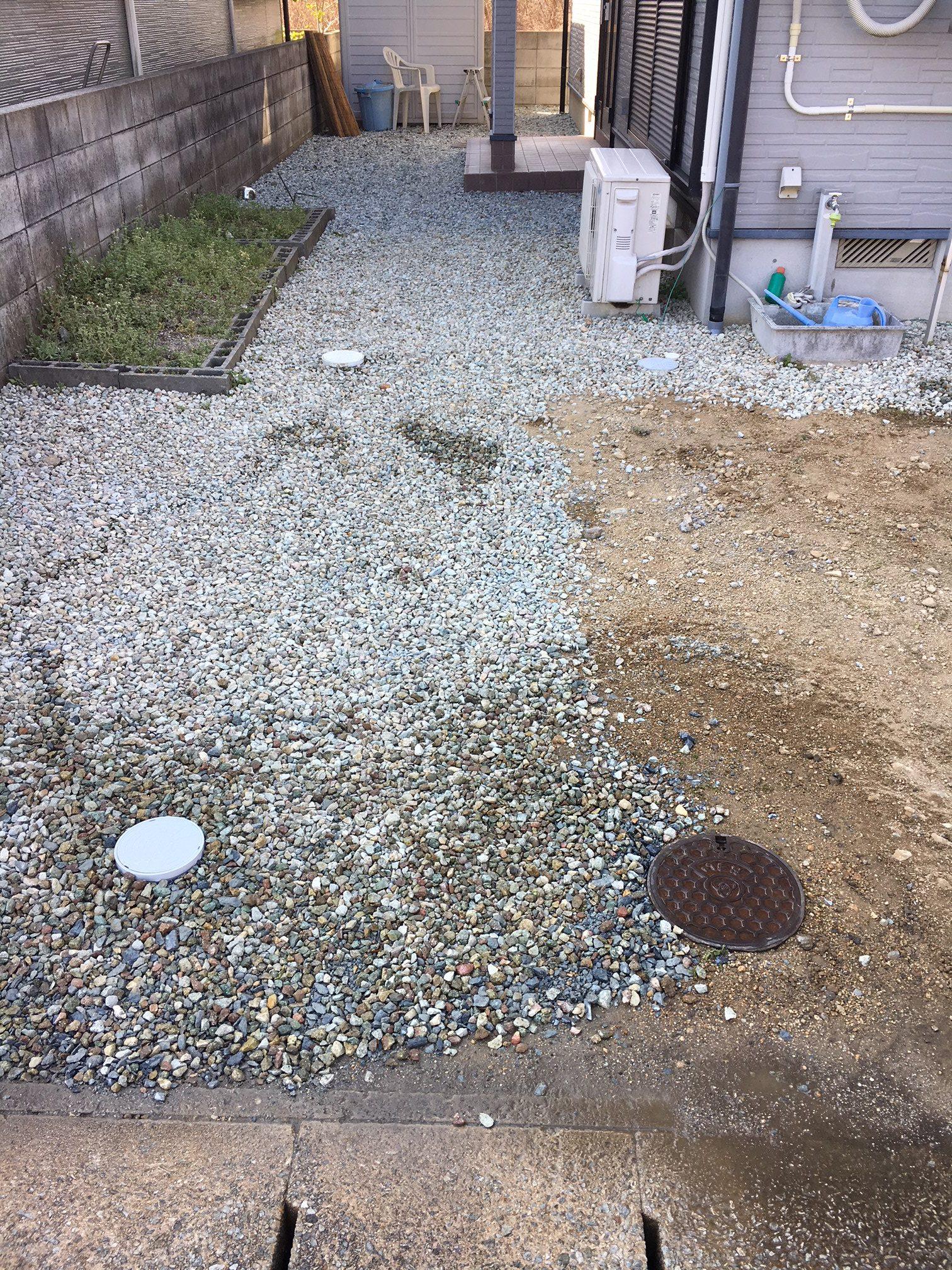 下水道切り替え工事