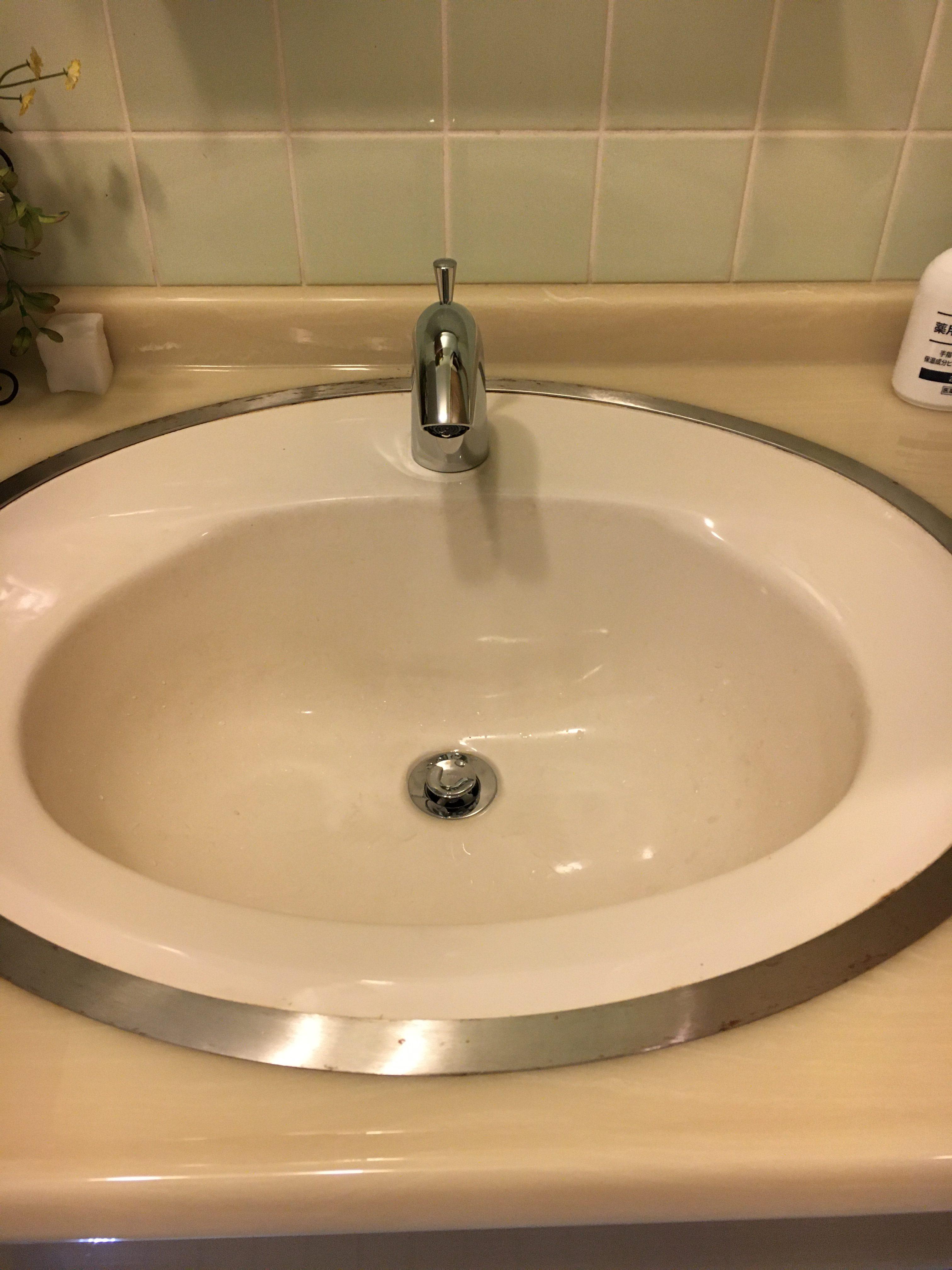 トイレ手洗い水栓取替