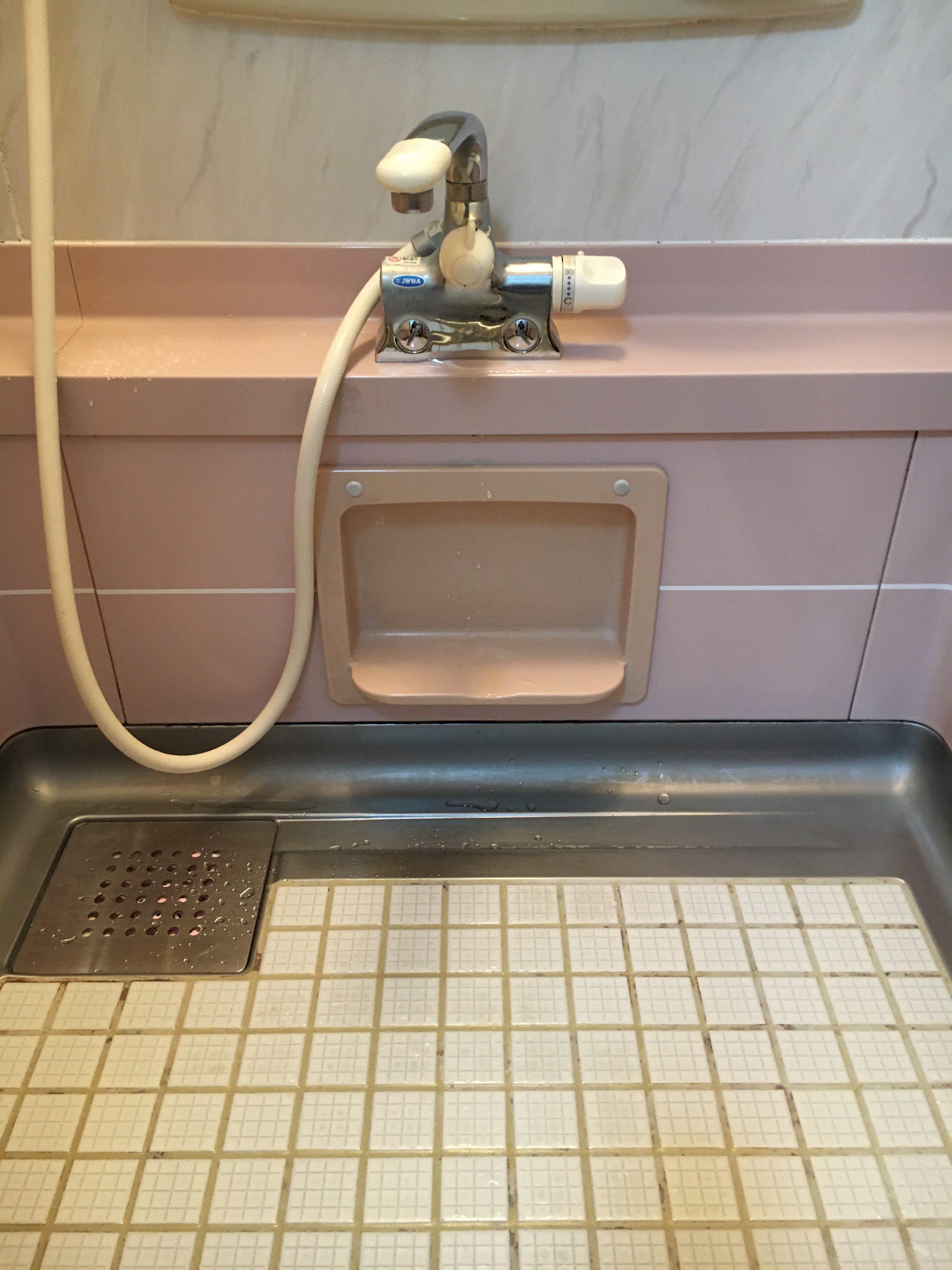 シャワ-水栓取替