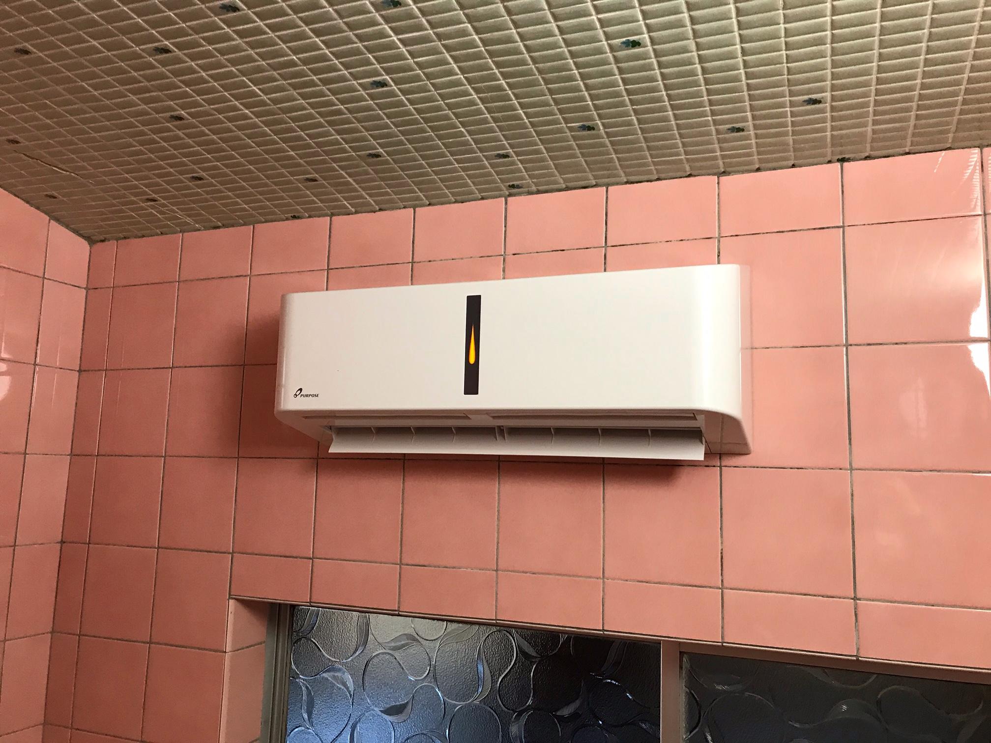 浴室暖房乾燥機取付