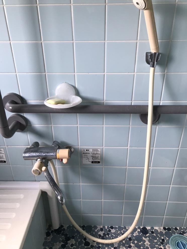 浴室水栓取替